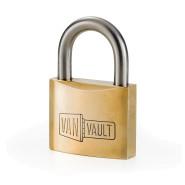 Image for Van Vault Brass Padlock