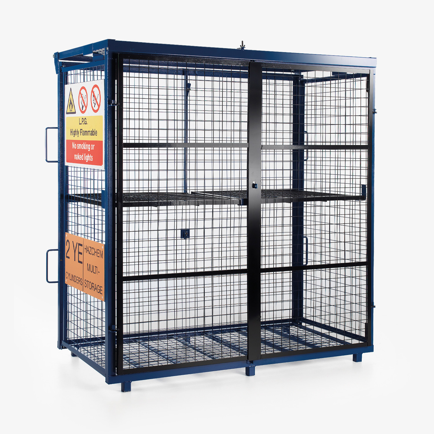 Fold-away Gas Cage
