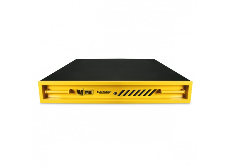 A Van Vault slim slider security vehicle container, ideal for storing tools and equipment. S10327